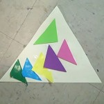 triangles on triangle collage