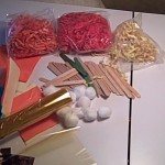 Fall craft materials
