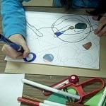 coloring in designs in drawing ideas for children