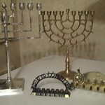 Real Menorah display