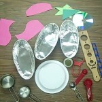 Objects for template art for drawing for kids