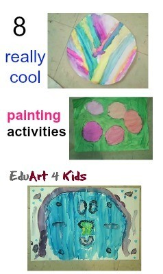 8 cool painting activites