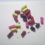 broken crayons for crayon art