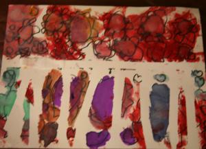 watercolors flowers 2