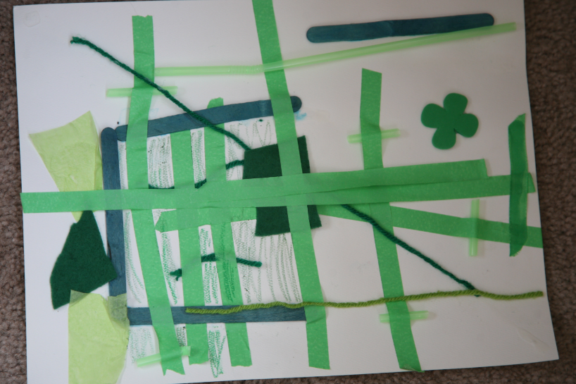 st patricks day art activities