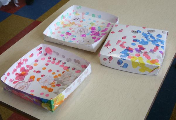 matzah boxes