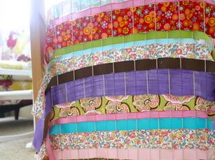 weave with fabrics