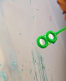 bubbles art