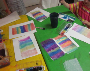 painting tissue paper 1