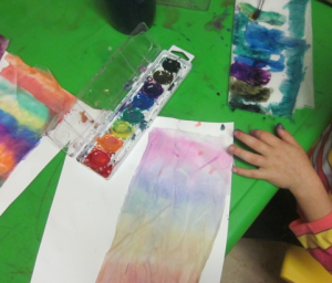 painting tissue paper 3