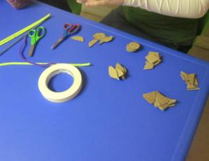 preparing shapes