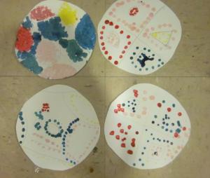 circle dot art