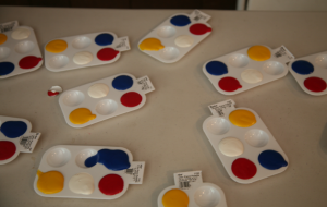 many paint holders