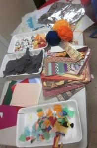 materials for menorahs