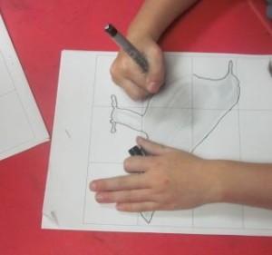 tracing bird