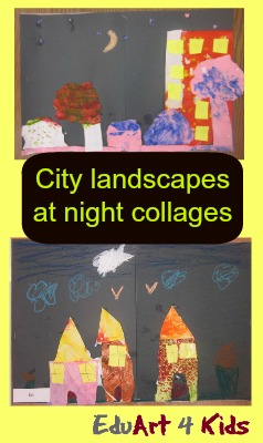 city landscapes at night