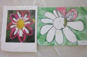 copying flower 1