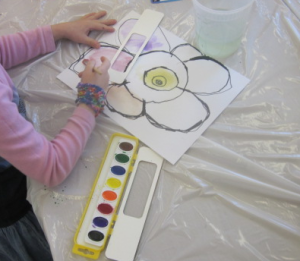 painting flowers 1