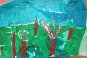 trees landscape 1