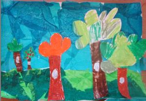 trees landscape 2