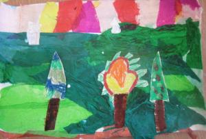 trees landscape 5
