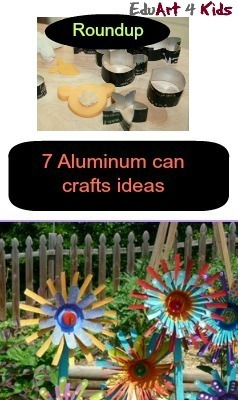 aluminum can crafts