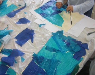 creating oceans