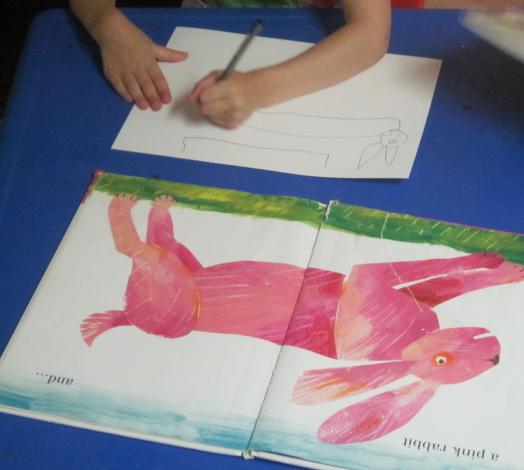 drawing bunny
