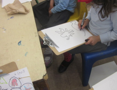 drawing sea creatures 2