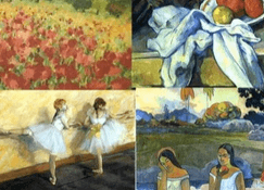 slides to teach impressionism