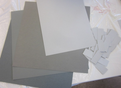 specialty gray papers