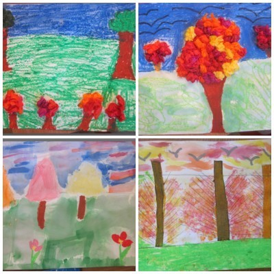 3rd grade 4 collage