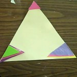 triangles collage