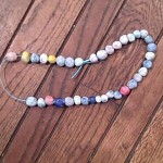 clay beads for thanksgiving crafts