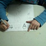 copying real items in drawing class for kids