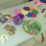 materials for flower collages