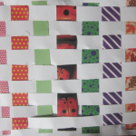 a woven scrapbooking page for kids