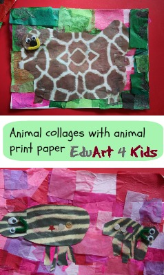 animal collages