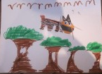 animal crafts with animal paper