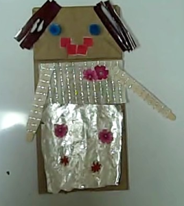 person puppet