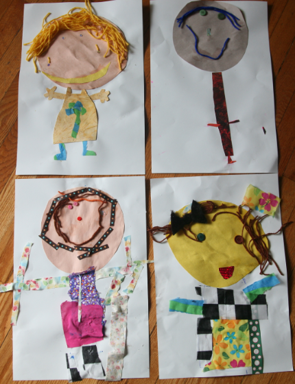 playgroup craft ideas all about me themed arts and crafts for preschoolers 5 2714