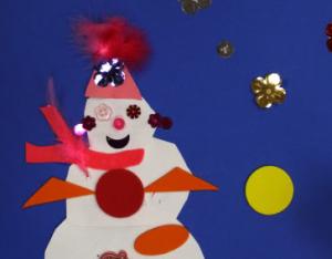 snowmen collage