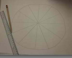 empty color wheel