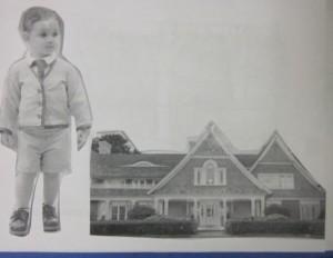 large boy and large house