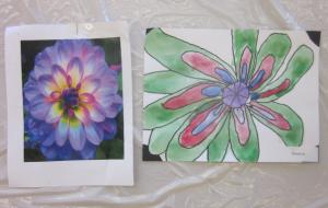 copying flower 2