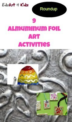 9 aluminum foil art