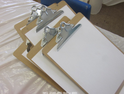 clipboards for drawing