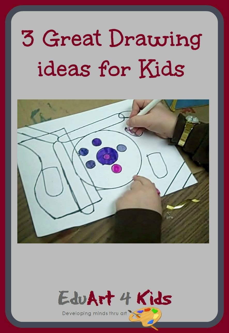 Drawing ideas for kids: