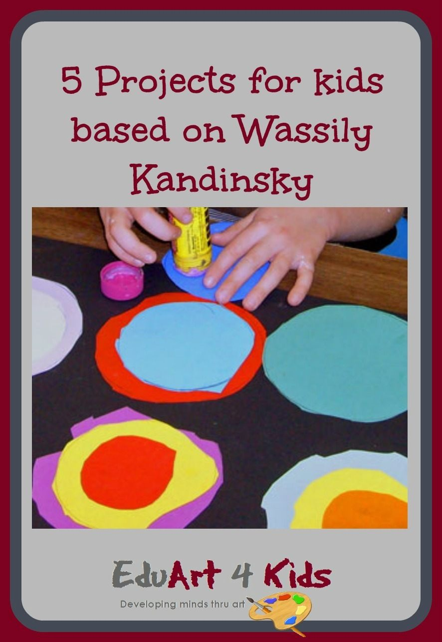 Kandinsky for kids making children comfortable with abstract art