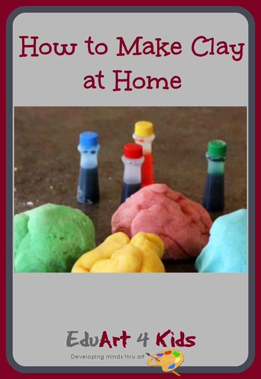 How to make clay at home: The good recipes and the one not